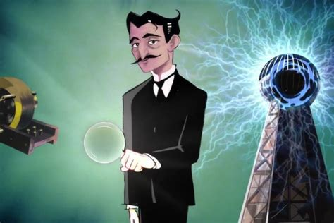 Tomorrowland Tesla Pixar S Deleted Animated From Tomorrowland