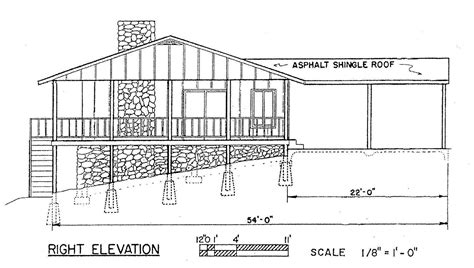 view house plans free 3 bedroom ranch house plan with porch for sloped lot
