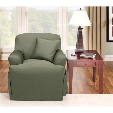 sure fit recliner cover instructions sure fit 174 logan t cushion chair slipcover 292831