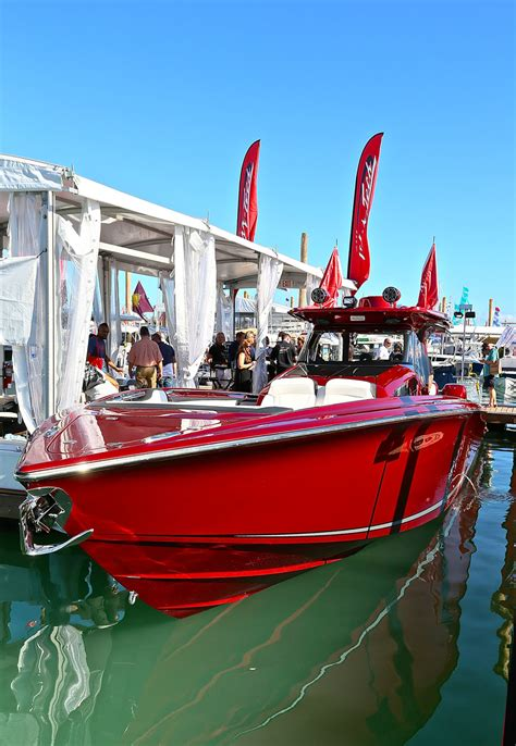 new boats miami boat show 2018 2018 miami boat show s high performance highlights boats