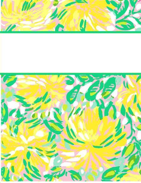 vera bradley printable binder covers my cute binder covers happily hope