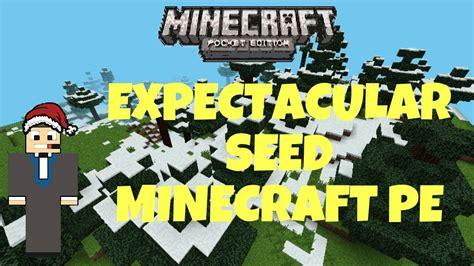 minecraft 0 8 1 apk seed espectacular para minecraft pe 0 8 1