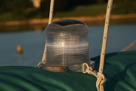 We Ll Leave The Solar Light On For You Solar Powered Anchor Light