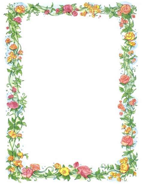 Pretty page borders cliparts co