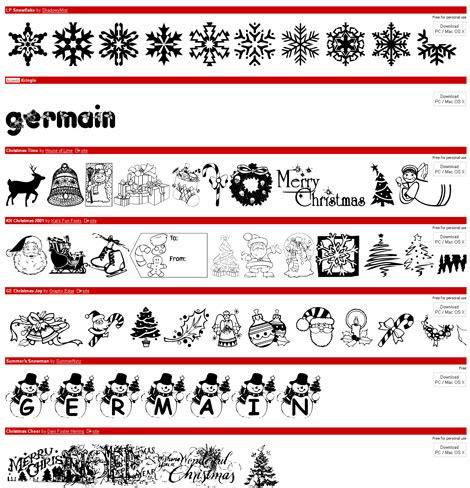 dafont xmas more free christmas fonts and dingbats