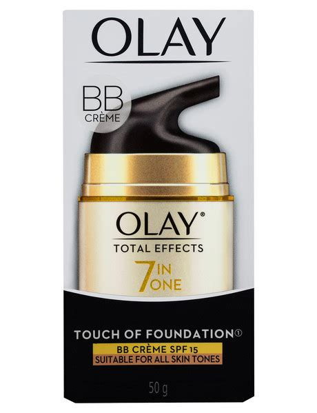 Olay Total Effects Touch Of Foundation of olay total effects touch of foundation spf 15 50g c