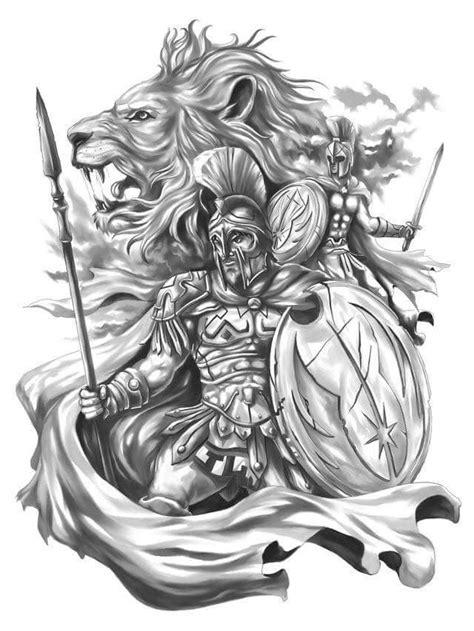 tattoo para phoenix knight l2 spartan lion warriors art cool art pinterest lions