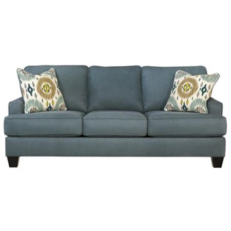 ashley furniture teal sofa 9660138 ashley furniture brileigh teal living room sofa