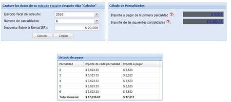 calculadora del isr 2016 arrendamiento pago en parcialidades declaracion anual11 jpg