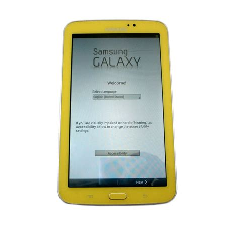 Galaxy Tab 3 Edition samsung galaxy tab 3 7 quot edition tablet android 8gb yellow sm t2105 ebay