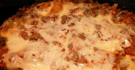 crockpot lasagna subbed cottage cheese for ricotta and