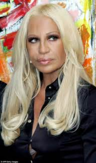 Versace Receiving Treatment by Donatella Versace Celebrates 60th Birthday By