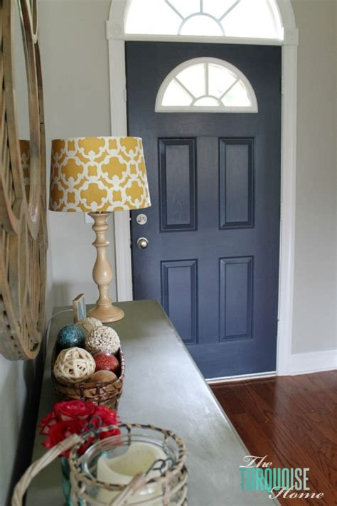 how to paint your front door how to paint an interior door hale navy the turquoise home