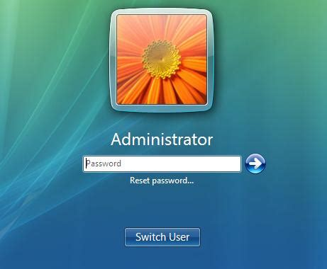 reset a vista password 4 tips to reset windows vista password when you forgot it