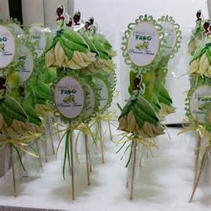 princess and the frog marshmallow favors