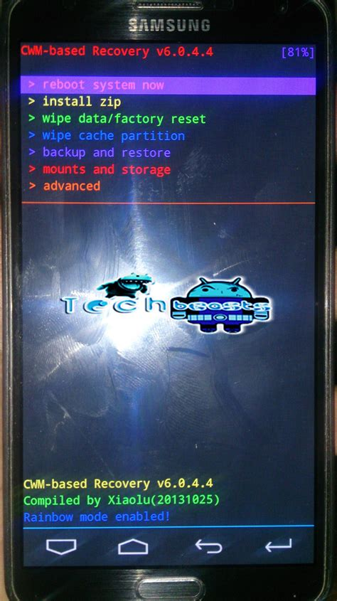 Samsung Mode How To Boot Samsung Galaxy Devices Into Recovery Mode