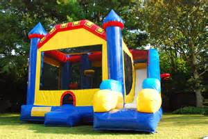 combo bounce house obstacle course rental on island