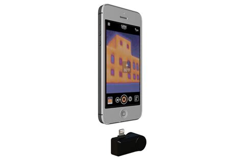 thermal smartphone an affordable thermal imaging that plugs into your