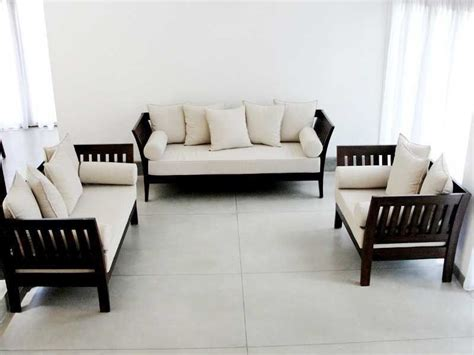 Sofa Panjang Minimalis modern wood sofa sweet idea 10 1000 ideas about wooden set designs on home