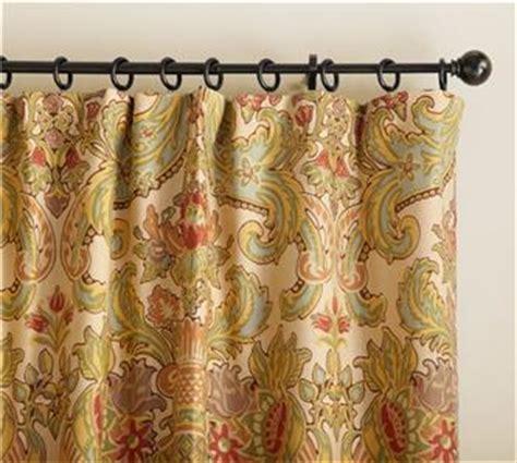 pottery barn simone drapes s 2 pottery barn simone floral drapes panels curtains 50 x