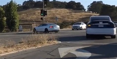 Tesla Silicon Valley Tesla Model X Prepped For Delivery Spyshots And