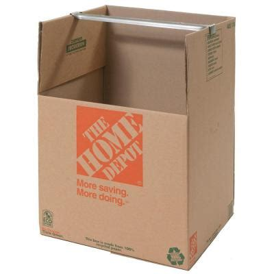 wardrobe boxes home depot the home depot wardrobe box with metal hanging bar 1001007