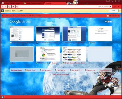 chrome themes white ده تم پراستفاده كروم