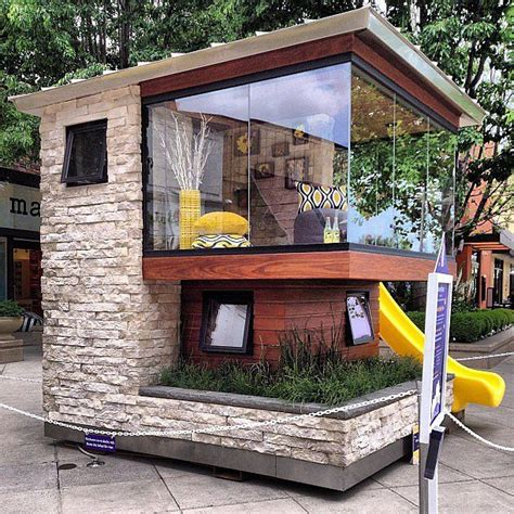 10 amazing outdoor playhouses every kid would s