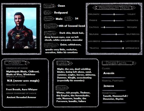 skyrim character template ozan by skyflower51 on deviantart