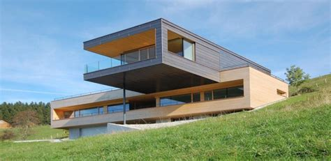 Unique Home Interior Design superbe maison en bois contemporaine avec porte 224 faux en
