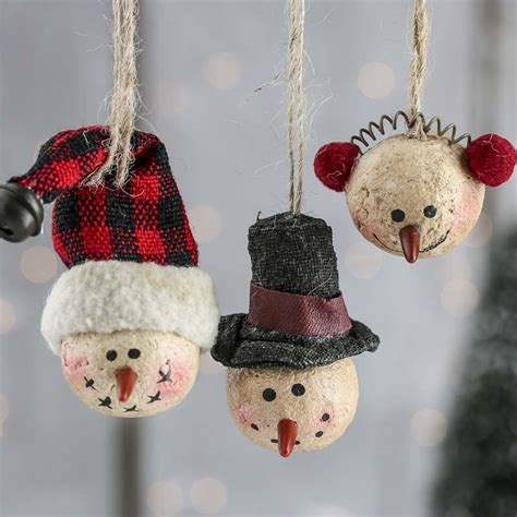 paper clay ornaments primitive paper clay snowman ornaments miniatures and winter