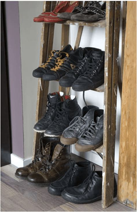simple shoe rack solutions homejelly