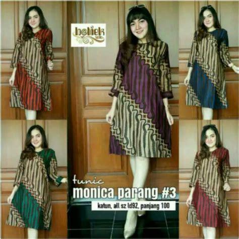 Tunik Parang Berasan Tunik Batik tunik parang 3 dress batik cantik batik cewek