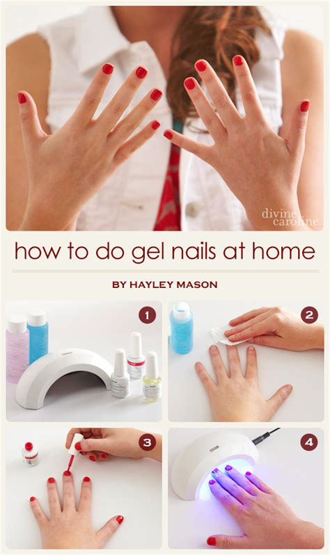 how can i build my at home how to do gel nails at home more