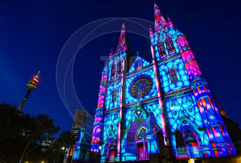 christmas tree projector technical direction company play of light brightens up australia ledinside