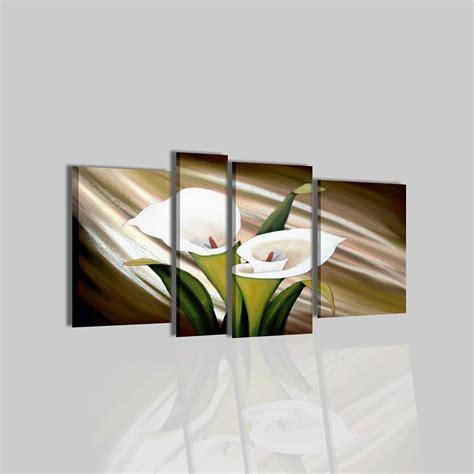 quadro fiori moderno dipinto moderno con fiori sesen