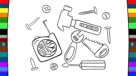 tools coloring pages hardware tools coloring pages drawing and coloring pages