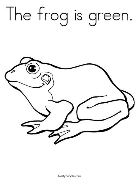 green tree coloring page the frog is green coloring page twisty noodle