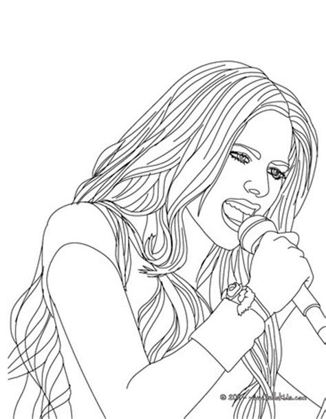 little girl singing coloring page singer coloring pages for girls little girl singing page