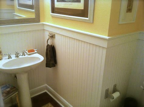 bathroom wall covering ideas beadboard on bathroom walls jimhicks yorktown virginia