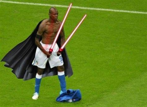 Mario Balotelli Meme - no one will be ever be as good as zidane