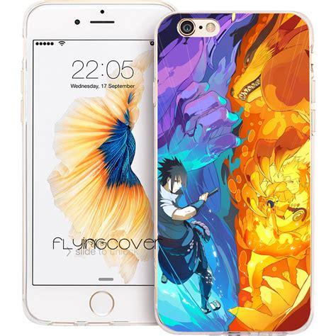 And Sasuke Iphone 5 5s 5c 6 6s 7 Plus coque fundas sasuke transparent clear soft tpu phone cases for iphone 7 7plus for