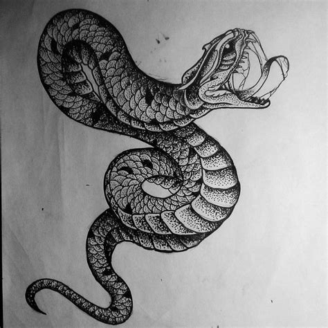 dotwork tattoo pen wonderful dotwork snake tattoo design tattoo concepts