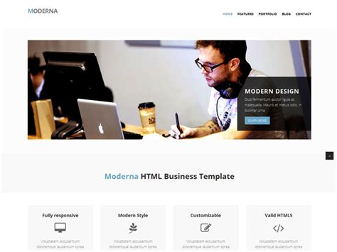 bootstrap layout business 12 best free bootstrap business templates in october 2015