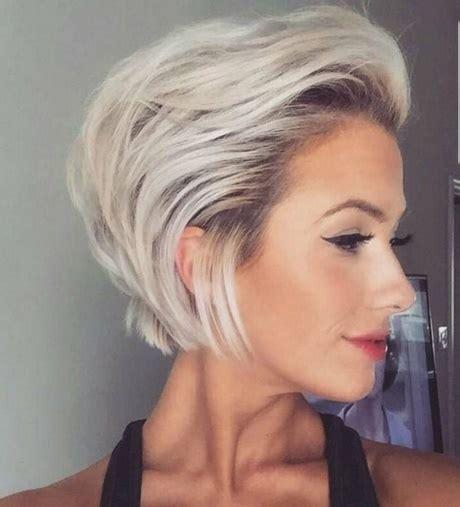 korte kapsels blond