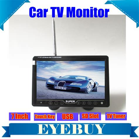 Tv Mobil Portable Lcd 7 5 Inch portable tv monitors promotion shop for promotional