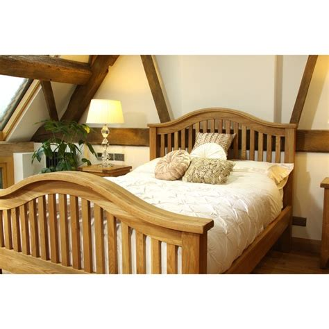 Vancouver Bed Frame Vancouver Oak Vxb005 Bed Frame High End Homeware Thehut