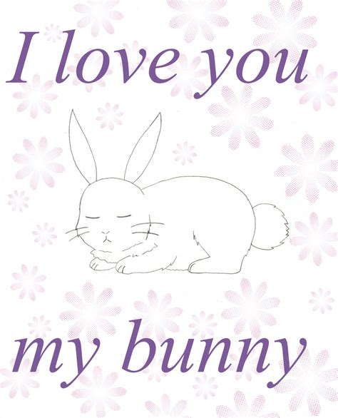 images of i love you my love i love you my bunny cover by hitomi2298 on deviantart