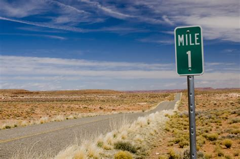 To 1 Mile by 6 Vital Navigational Road Signs You Must Be Familiar With