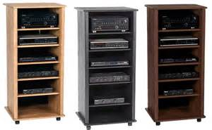 Audio Rack Cabinet Wooden Audio Rack Cabinet Woodproject